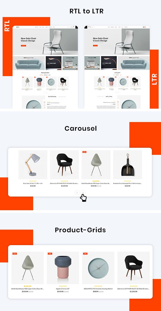 Dot Furniture Responsive OpenCart 3 Theme - 4