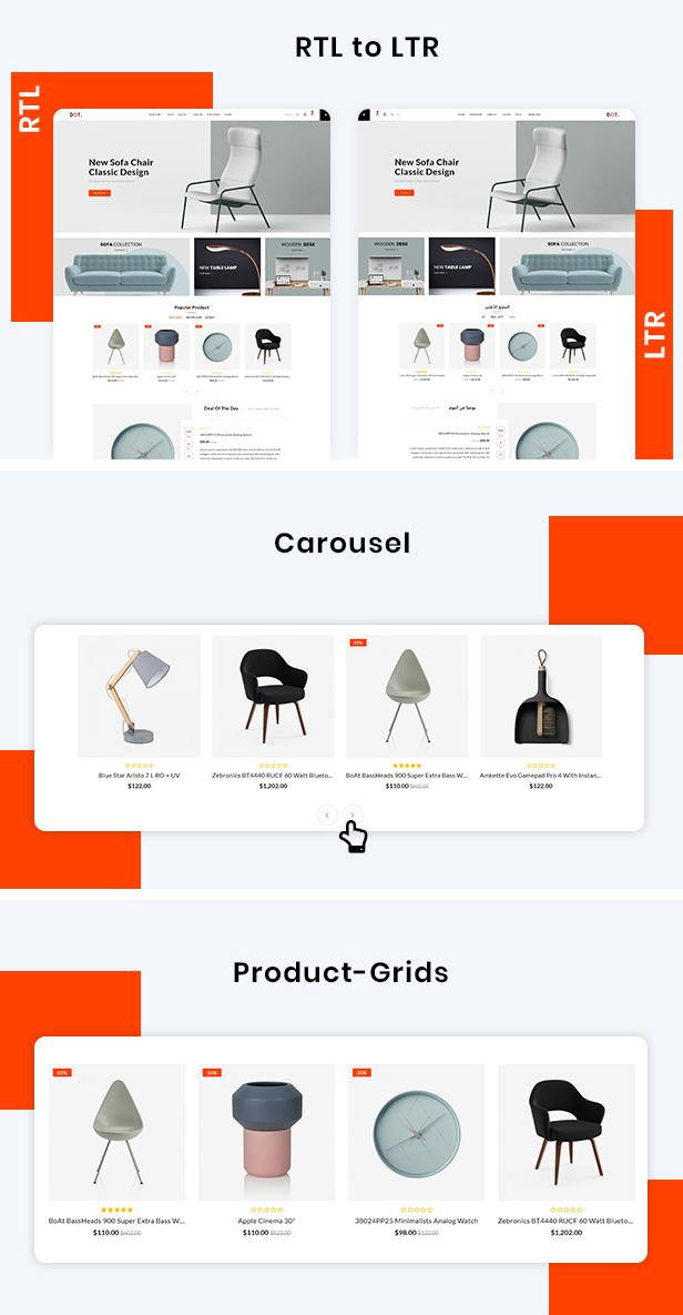 Dot Furniture Responsive OpenCart 3 Theme - 4