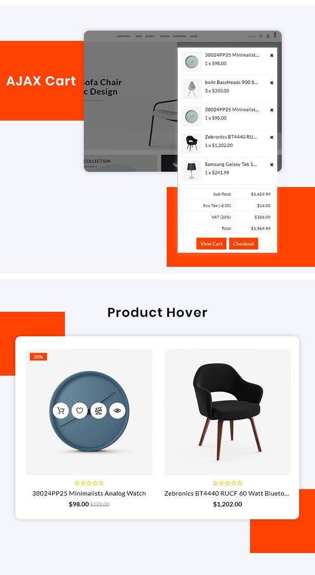 Dot Furniture Responsive OpenCart 3 Theme - 5