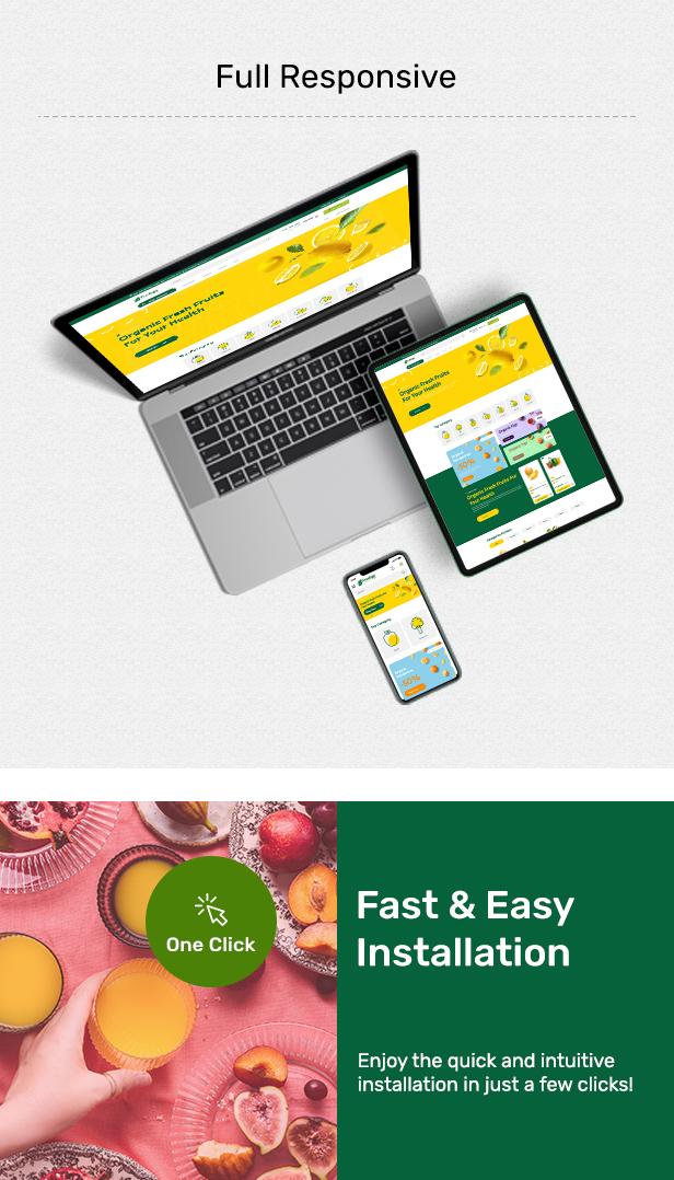 FreshGo - Organic &Supermarket Food Store - 4