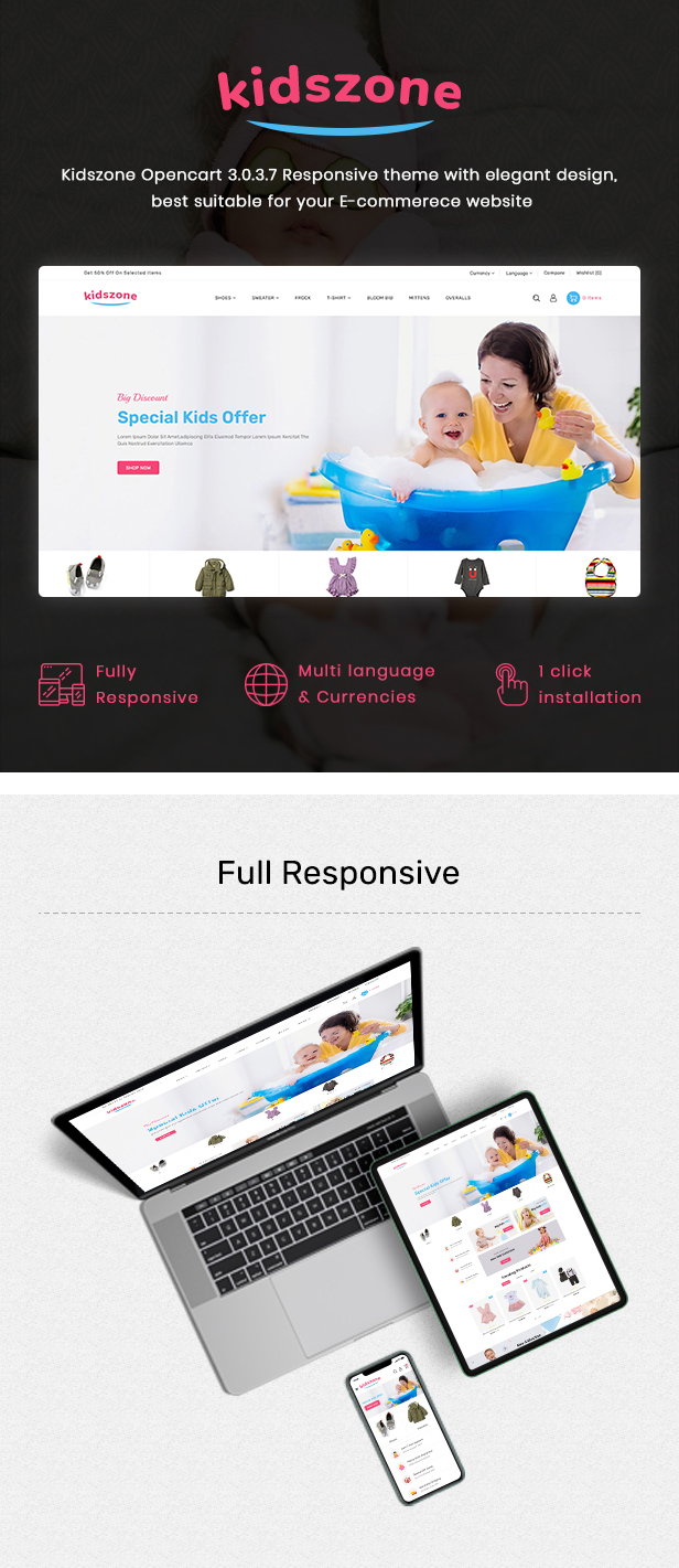 KidsZone - Multipurpose Kids & Children Fashion Store - 2