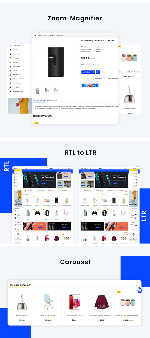 Payiza - eCommerce OpenCart Theme - 4