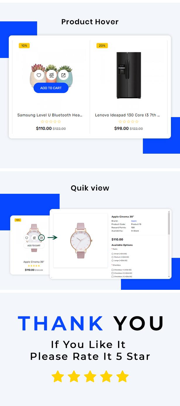 Payiza - eCommerce OpenCart Theme - 6