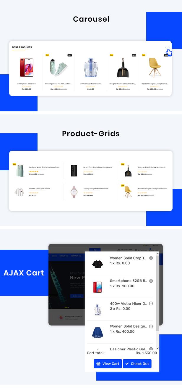 Payiza Multipurpose Shopify Responsive Theme - 4