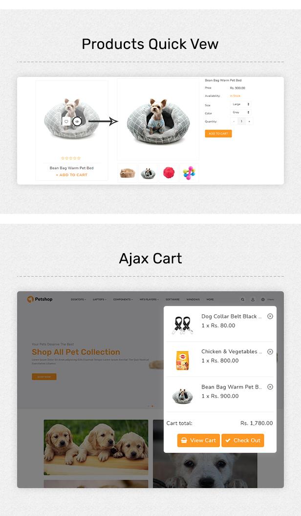 Petshop - Multipurpose E-commerce Shopify Template - 3