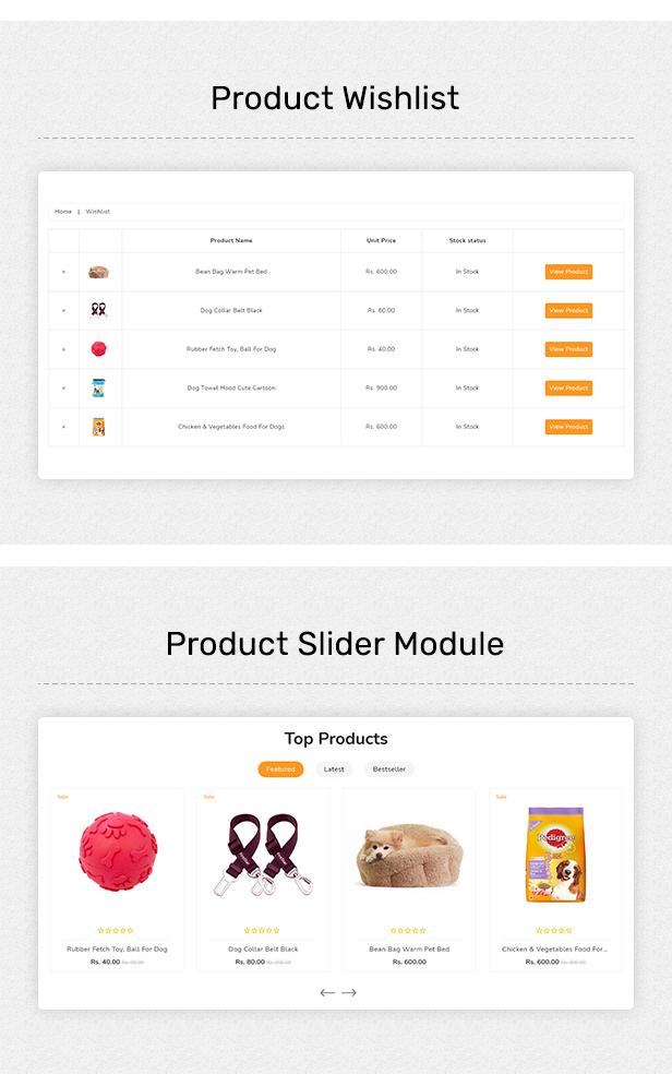 Petshop - Multipurpose E-commerce Shopify Template - 4