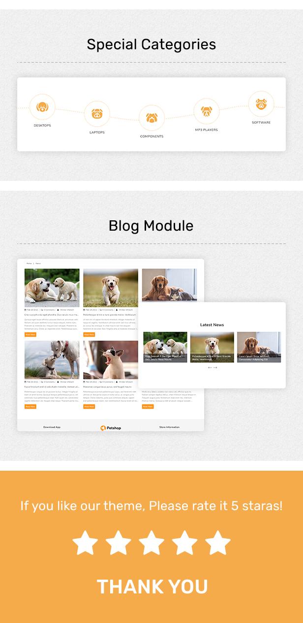 Petshop - Multipurpose E-commerce Shopify Template - 5