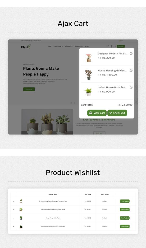 PlantB - Gardening, HomeDecor & Houseplants Theme - 6