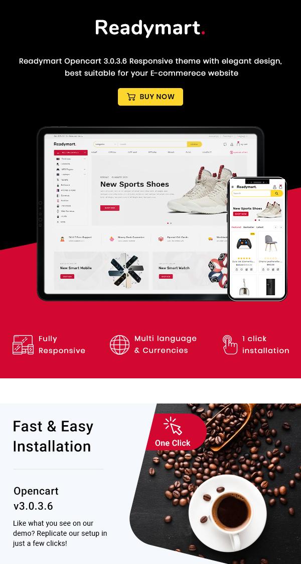 Readymart Electronics Ecommerce multipurpose OpenCart Theme - 2