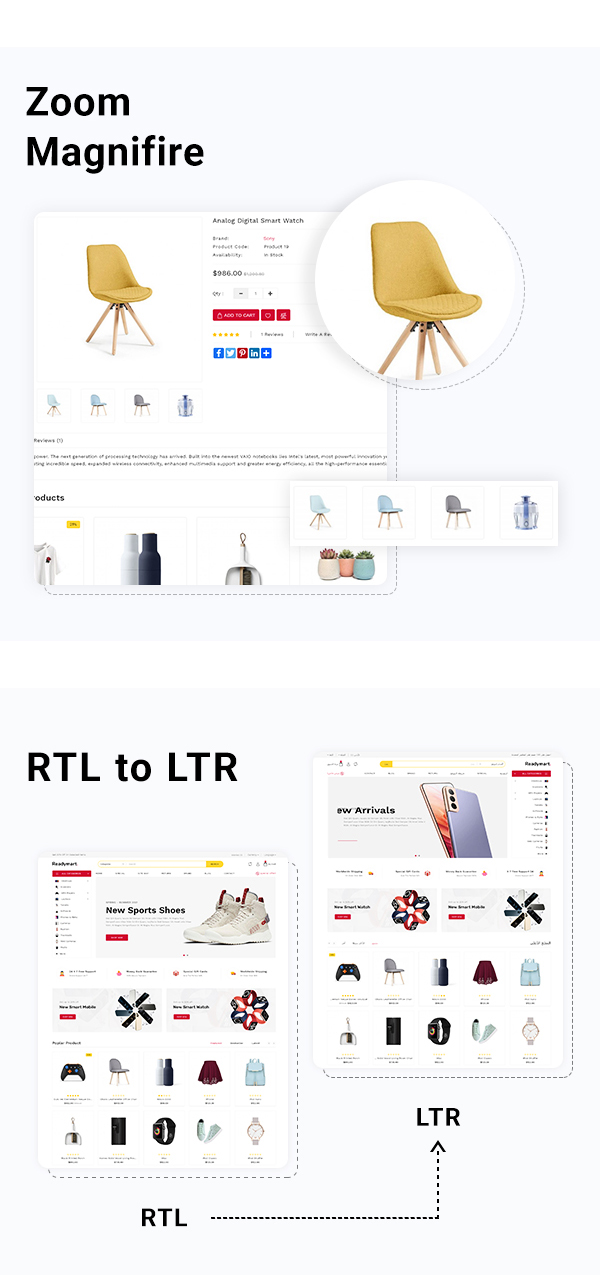 Readymart Electronics Ecommerce multipurpose OpenCart Theme - 4