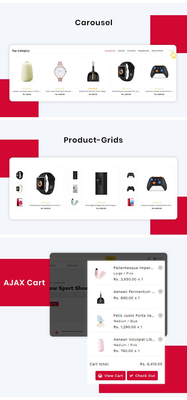ReadyMart Multipurpose Shopify Responsive Theme - 4