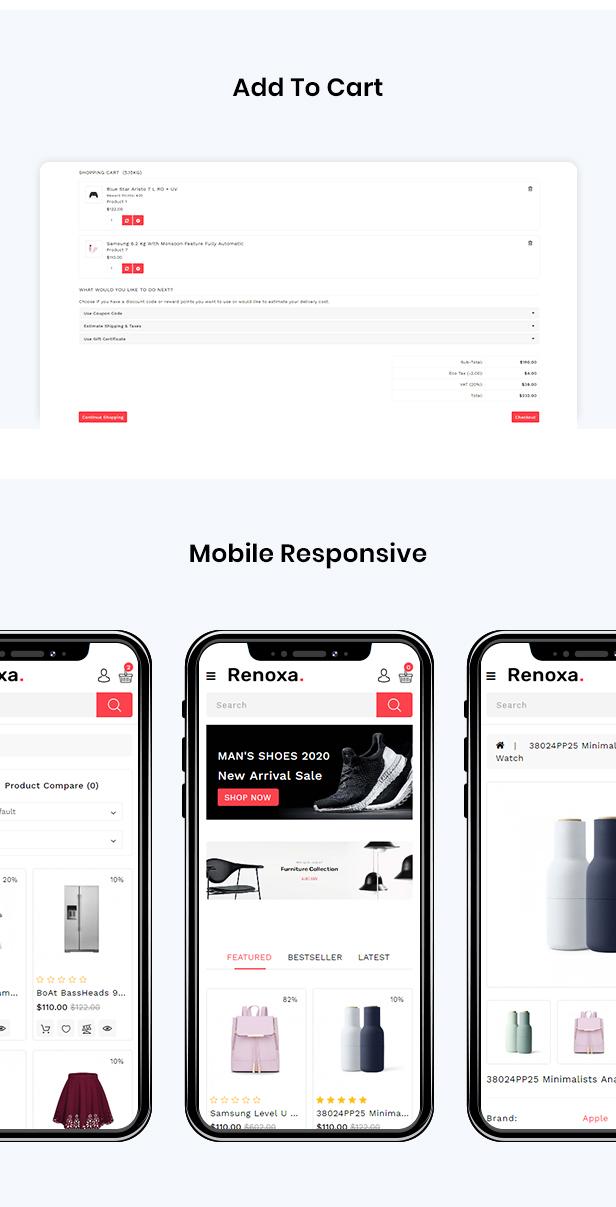 Renoxa Multipurpose Opencart Responsive theme - 3