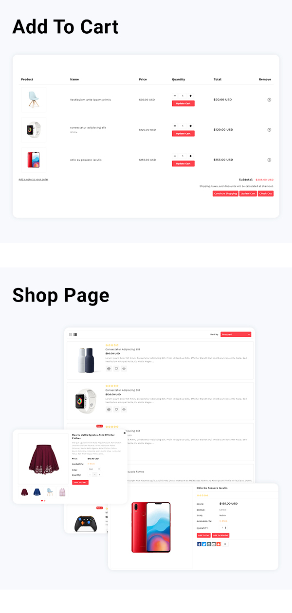 Renoxa Multipurpose E-commerce Shopify Template - 3