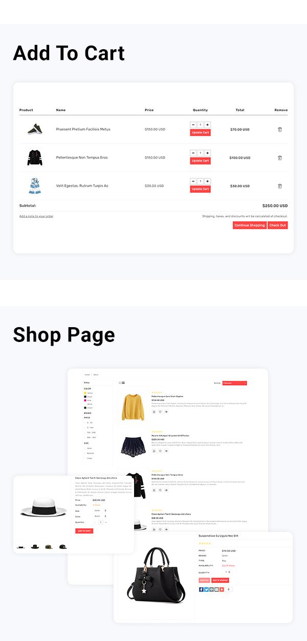 Zonex Multipurpose E-commerce Shopify Template - 3
