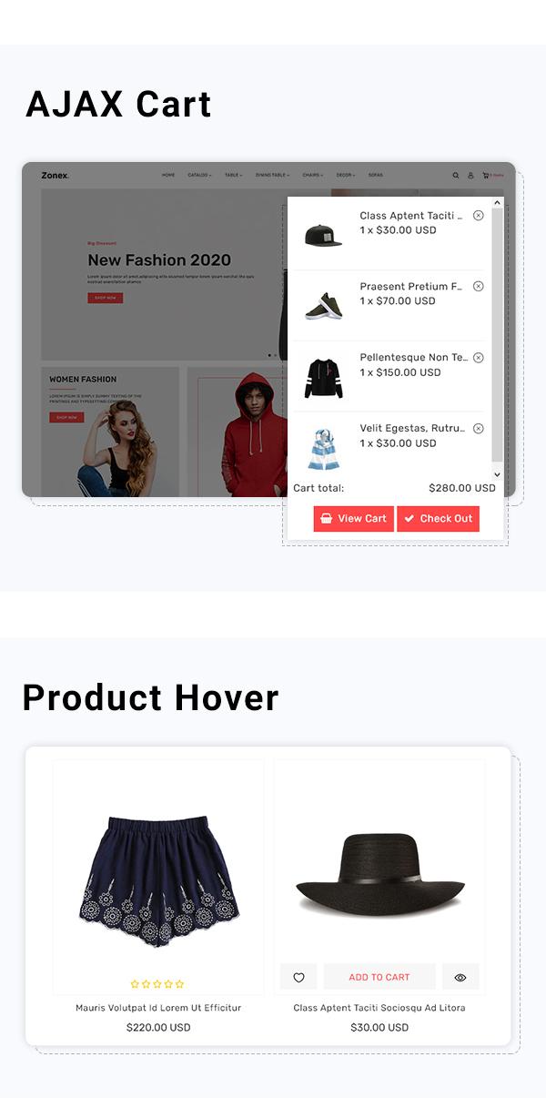 Zonex Multipurpose E-commerce Shopify Template - 4